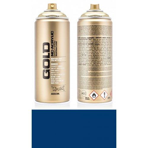 Akrylový sprej Montana Gold 400 ml modrá ultramarínová