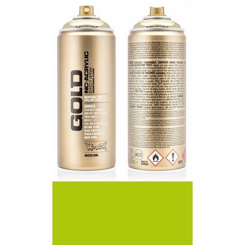 Akrylový sprej Montana Gold 400 ml limetka