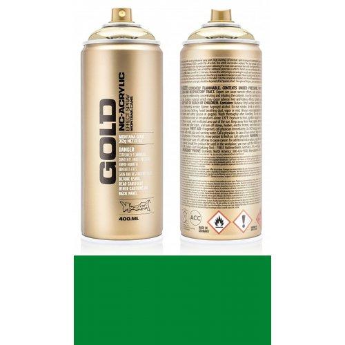 Akrylový sprej Montana Gold 400 ml zelená