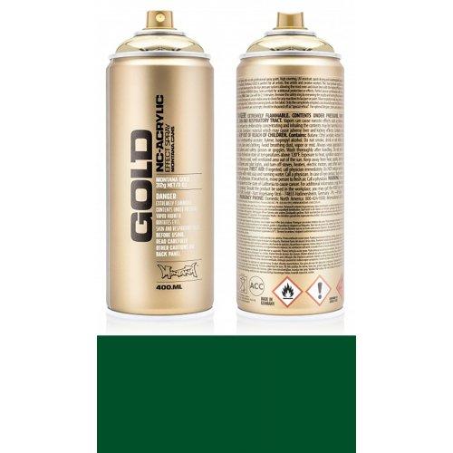 Akrylový sprej Montana Gold 400 ml zelená smaragdová