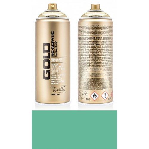 Akrylový sprej Montana Gold 400 ml zelená malachitová