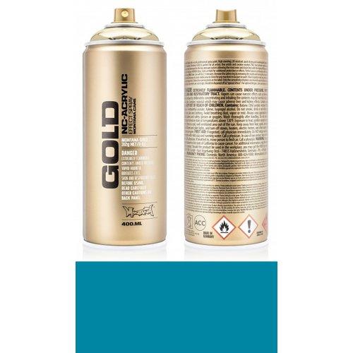 Akrylový sprej Montana Gold 400 ml tyrkysová Aqua
