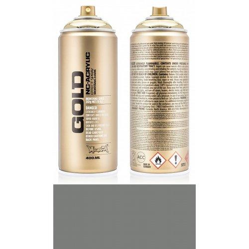 Akrylový sprej Montana Gold 400 ml šedá střešní