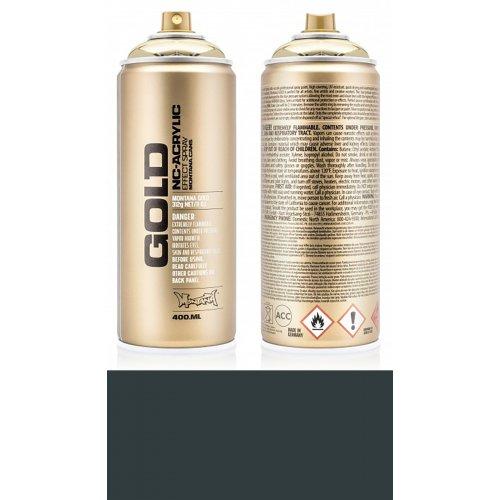 Akrylový sprej Montana Gold 400 ml černá tajemná