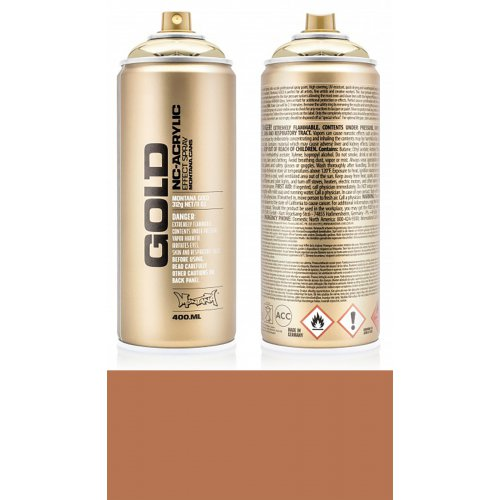 Akrylový sprej Montana Gold 400 ml nugátová