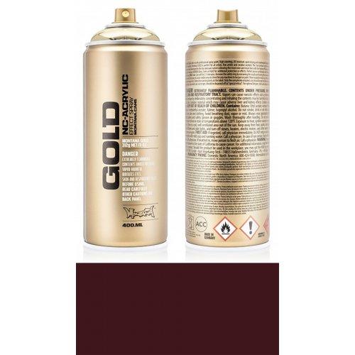 Akrylový sprej Montana Gold 400 ml vínová červená