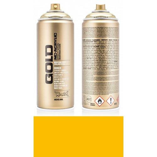 Akrylový sprej Montana Gold 400 ml Shock žlutá