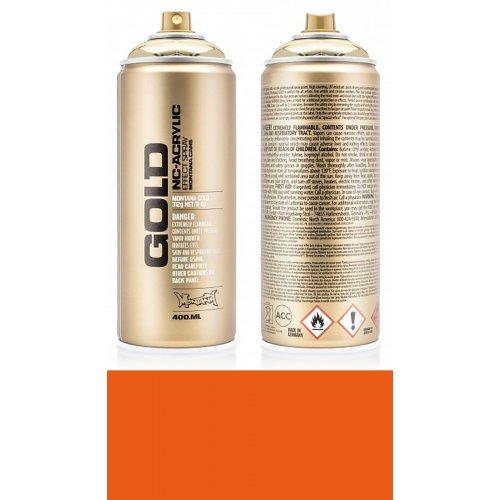 Akrylový sprej Montana Gold 400 ml Shock oranžová