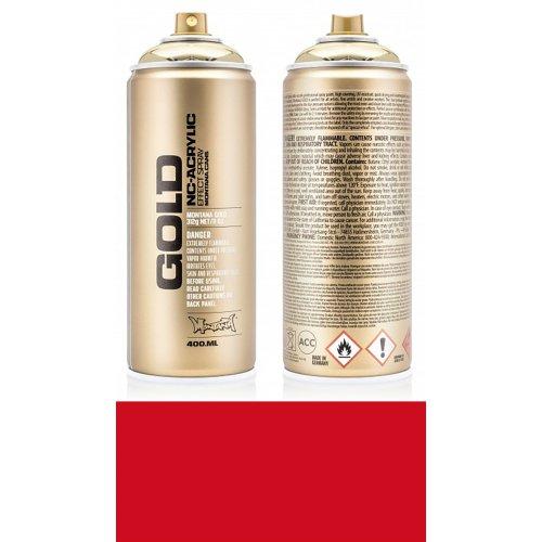 Akrylový sprej Montana Gold 400 ml Shock červená