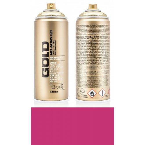 Akrylový sprej Montana Gold 400 ml Shock růžová