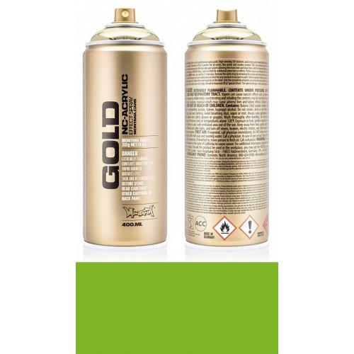 Akrylový sprej Montana Gold 400 ml Shock světle zelená