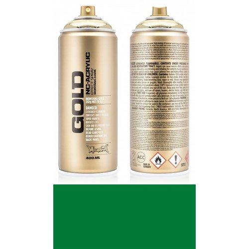 Akrylový sprej Montana Gold 400 ml Shock zelená