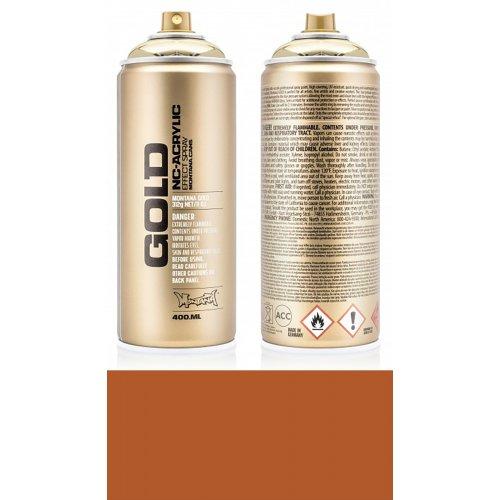 Akrylový sprej Montana Gold 400 ml Shock světle hnědá