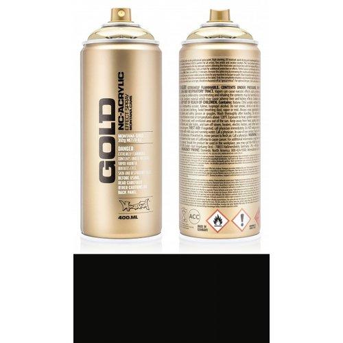 Akrylový sprej Montana Gold 400 ml Shock černá
