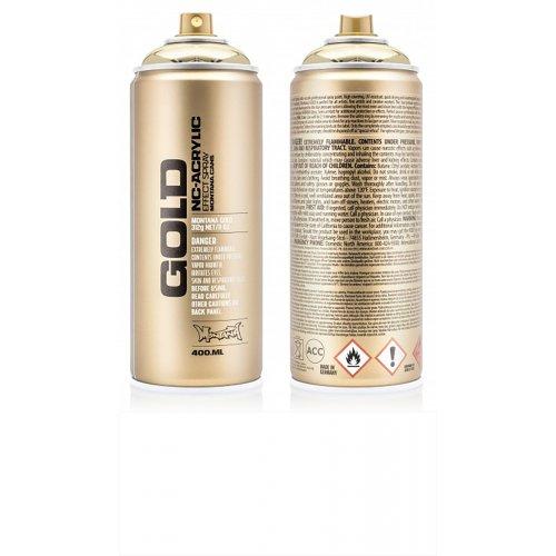 Akrylový sprej Montana Gold 400 ml Shock bílá