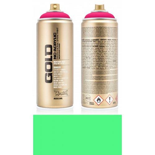 Akrylový sprej Montana Gold 400 ml UV Fluorescent kyselá zelená