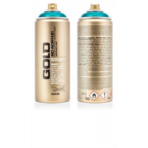 Akrylový sprej Montana Gold 400 ml Transparentní magická bílá