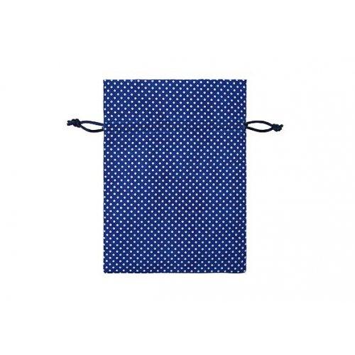 Sáček / puntík 13x 18 cm královská modrá