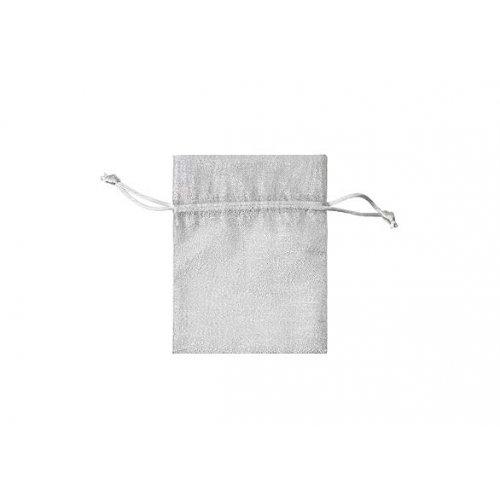 Sáček Lurex 9 x 12 cm stříbrný