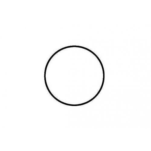 Drátěný základ pro dekorace / Kruh / průměr 10 cm / BÍLÁ