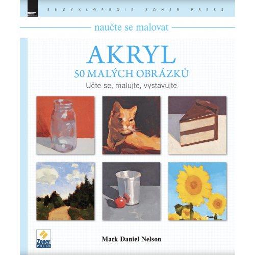 Akryl - 50 malých obrázků