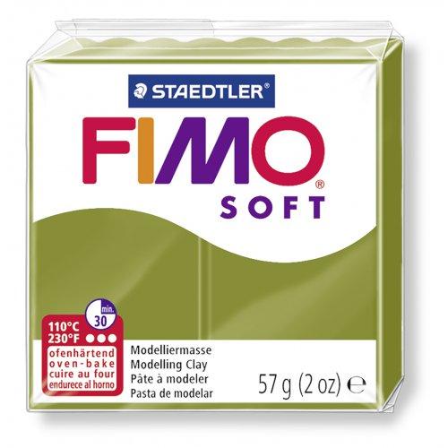 FIMO soft TREND olivová zelená 57g