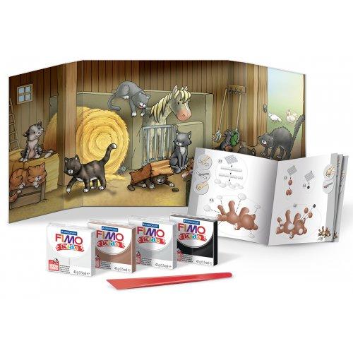 Sada Fimo kids Form & Play Kočky - 803416-image.jpg