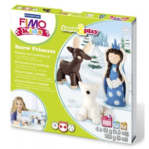 Sada Fimo kids Form & Play Sněhová princezna