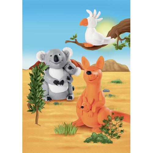 Sada Fimo kids Form & Play Zvířátka z Austrálie - 803423-image3.jpg