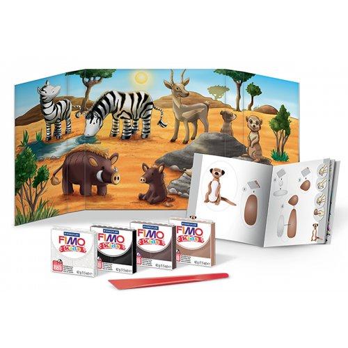 Sada Fimo kids Form & Play Zvířátka ze Savany - 803424-image.jpg