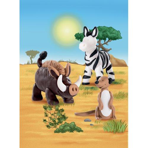 Sada Fimo kids Form & Play Zvířátka ze Savany - 803424-image2.jpg