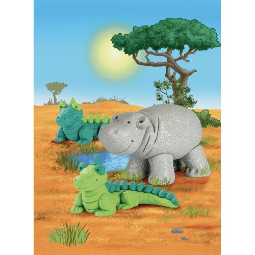 Sada Fimo kids Form & Play Zvířátka z Afriky - 803425-image2.jpg
