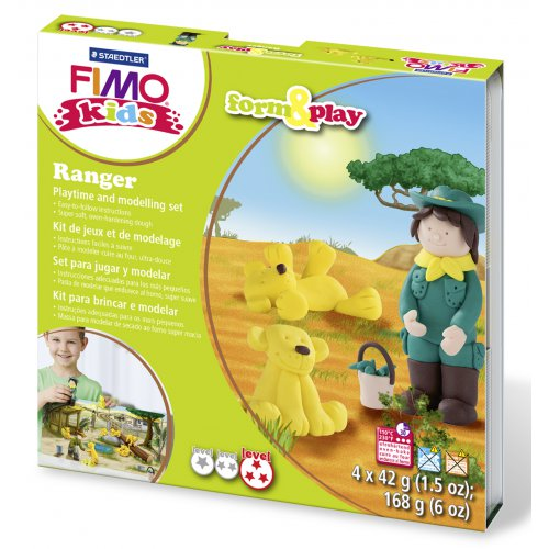 Sada Fimo kids Form & Play Ranger
