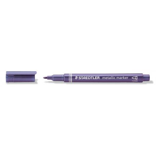 Metalický popisovač fialový STAEDTLER 1-2 mm kuželový hrot - 8323-623_open.jpg