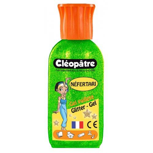 Třpytivý gel Cleopatre 100 ml zelený