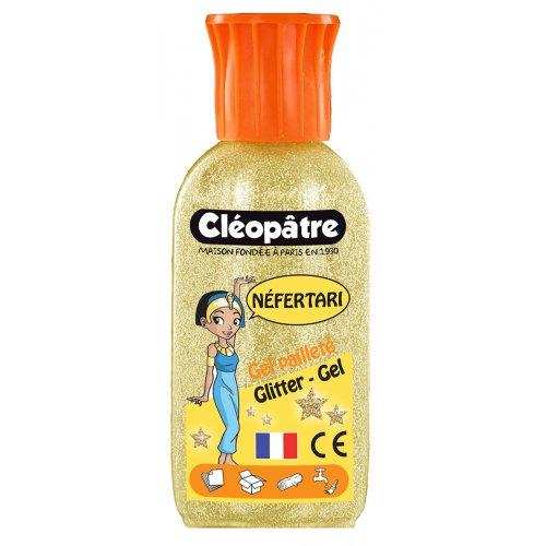 Třpytivý gel Cleopatre 100 ml zlatý