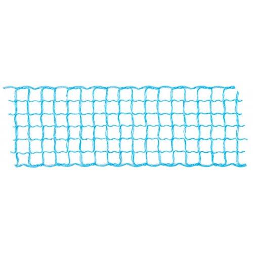 Dekorační stuha mřížka SVĚTLE MODRÁ šířka 40 mm