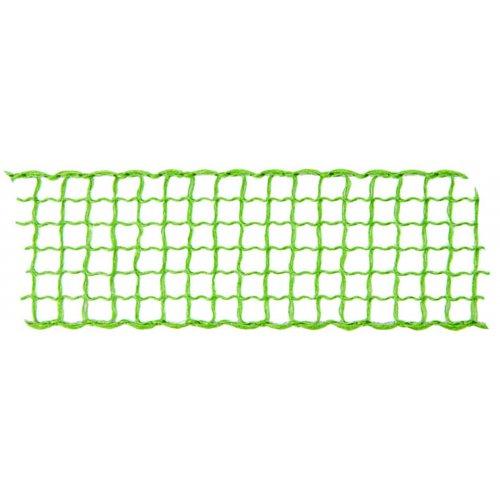 Dekorační stuha mřížka MÁJOVÁ ZELENÁ šířka 40 mm
