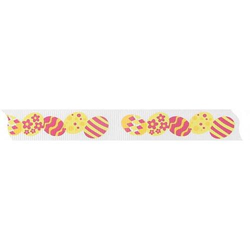 Velikonoční stuha VAJÍČKA šířka 15 mm