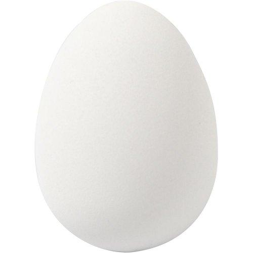 Plastové křepelčí vejce bílé  - 18 kusů v balení - CC51023.jpg