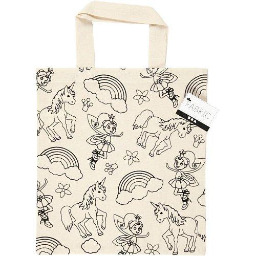 Nákupní taška dětská textil - JEDNOROŽEC A VÍLA - CC499642_a.jpg