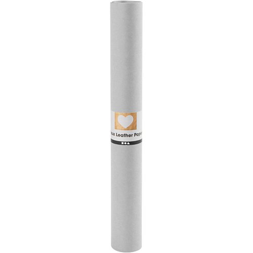 Papírová imitace kůže, šířka 50 cm, tloušťka 0,55 mm - šedá 1 m - CC498942_a.jpg