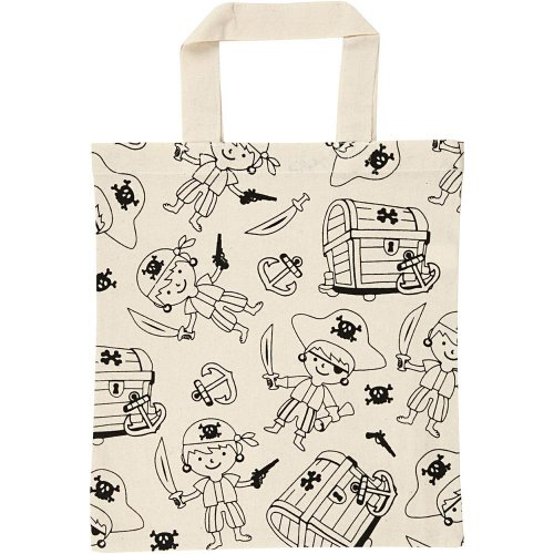 Nákupní taška dětská textil - PIRÁTI - CC499641.jpg