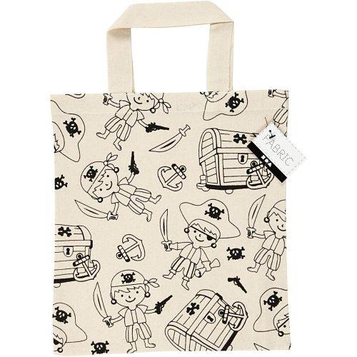 Nákupní taška dětská textil - PIRÁTI - CC499641_a.jpg
