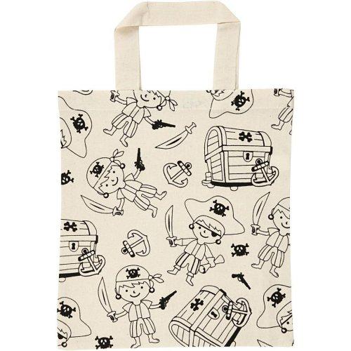 Nákupní taška dětská textil - PIRÁTI