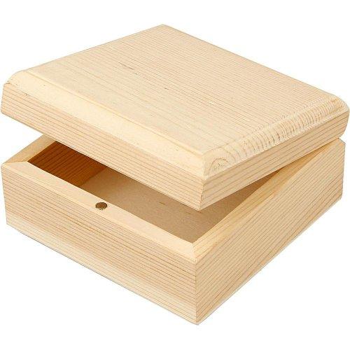 Dřevěná šperkovnička k dotvoření 9 x 9 x 5 cm - CC57732.jpg