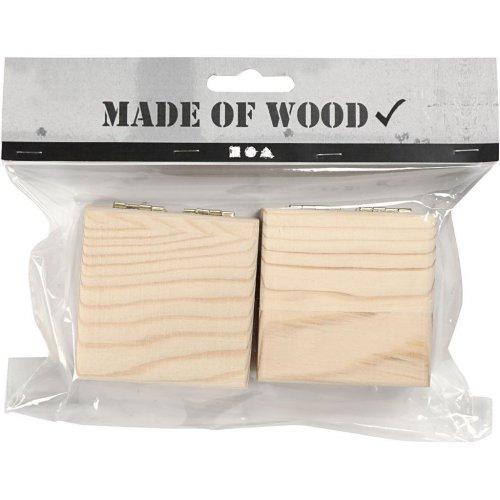 Dřevěná šperkovnička k dotvoření 6 x 6 x 3,5 cm - 576291_2.jpg