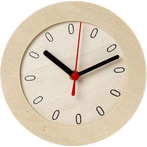 Dřevěné hodiny DIY k vlastnímu dotvoření průměr 15 cm - CC544260_a.jpg