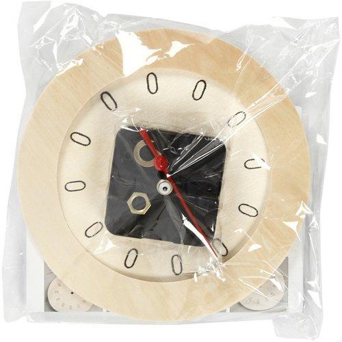 Dřevěné hodiny DIY k vlastnímu dotvoření průměr 15 cm - 544260_2.jpg