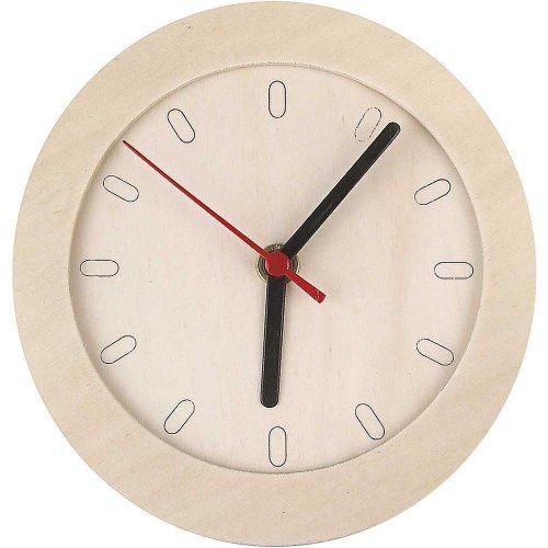 Dřevěné hodiny DIY k vlastnímu dotvoření průměr 15 cm - CC544260.jpg